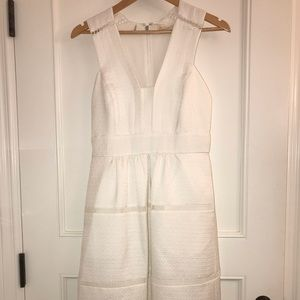 White wide strap Rebecca Taylor New with tags